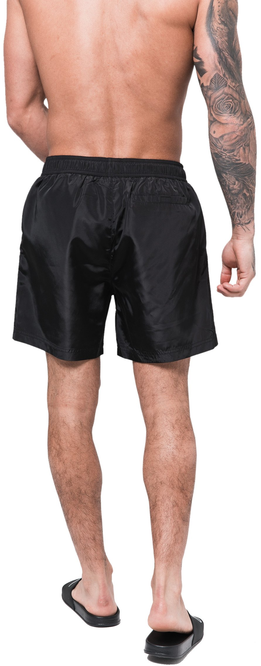 M XS L Good For Nothing Essential Swim Shorts Black S