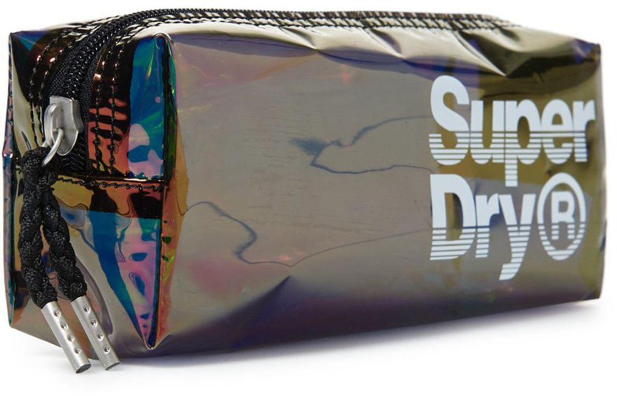 Superdry Damen Federmäppchen SUPER JELLY PENCIL CASE